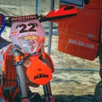 Zwycięski KTM 300 EXC Jonny'ego Walkera