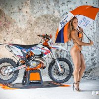 Hot Ride | KTM 250 EXC 6Days 2016 i białogłowa