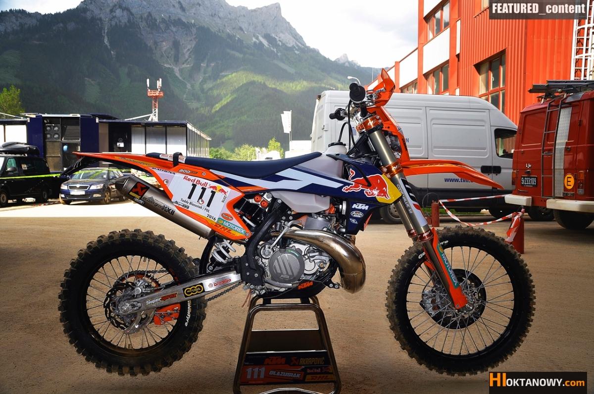 Erzbergowy KTM 300 EXC MY2017 Tadka Błażusiaka